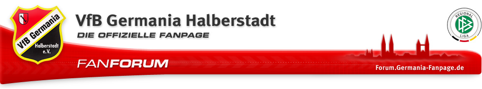 VfB Germania Halberstadt Fan-Forum